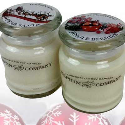 Kristin and Company Dear Santa and Jingle Berries Candles