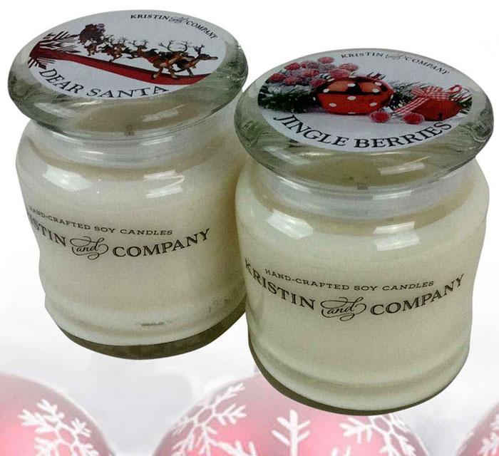 Kristin and Company Dear Santa and Jingle Berries Candles