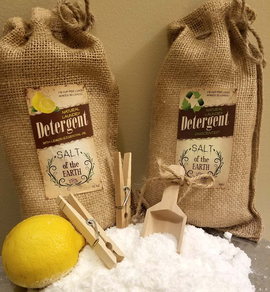 All Natural Laundry Detergent Salt of the Earth