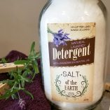 All Natural Laundry Detergent with Lavender Essential Oil