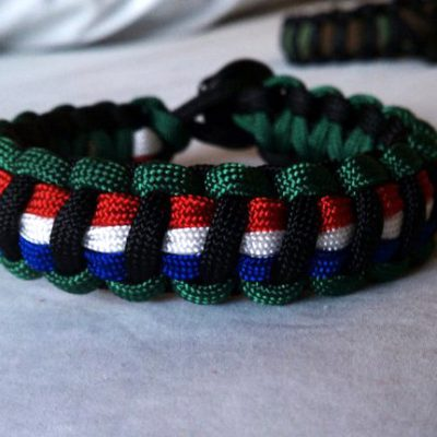 Operation Enduring Freedom Paracord Bracelet