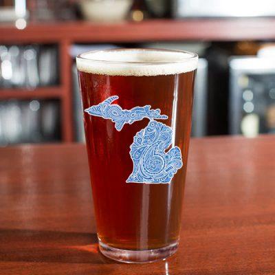 Paisley Michigan Glass