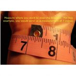 Measure wrist accurately!
