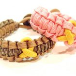 DCU with Coyote Tan and Yellow, Rose Pink with Yellow