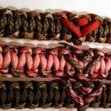 Heart Paracord Keychains