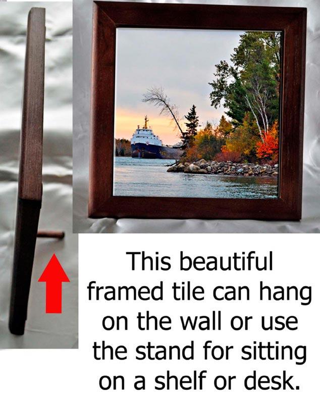 Framed Photo Tile