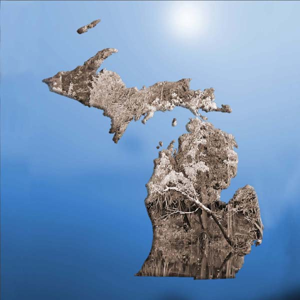 Michigan 1 Blue Sky
