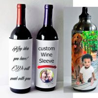 Photo Bottle Koozie Sleeve