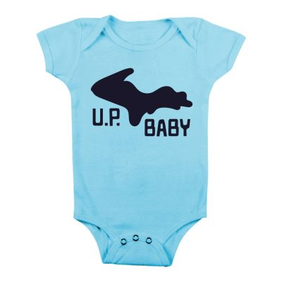 Michigan U.P. Baby Onesie