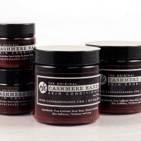 Cashmere Hands Skin Conditioner with True Colloidal Silver