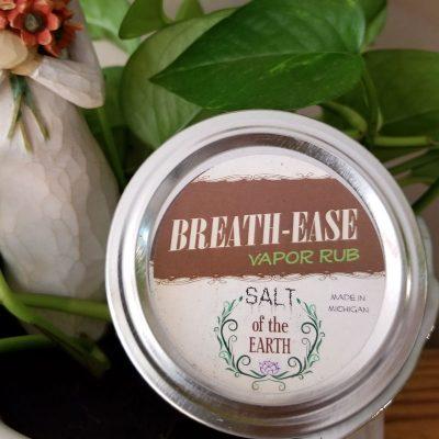 BREATH-EASE All Natural Vapor Rub