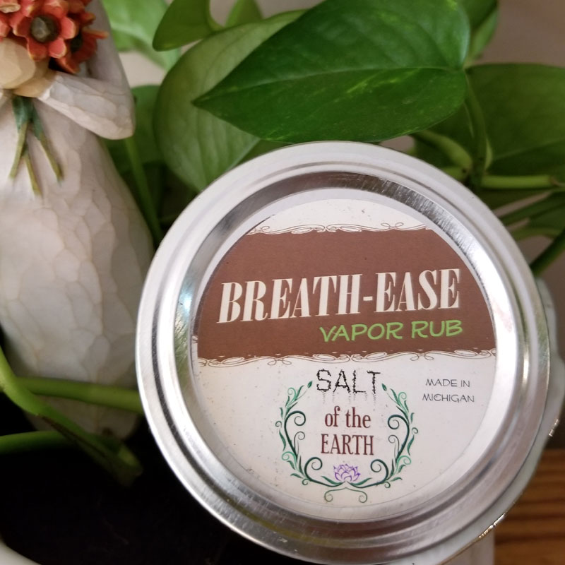 BREATH-EASE All Natural Vapor Rub