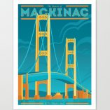 The Mighty Mac Giclee Print