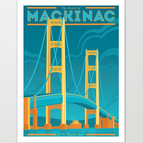 The Mighty Mac Giclee Print