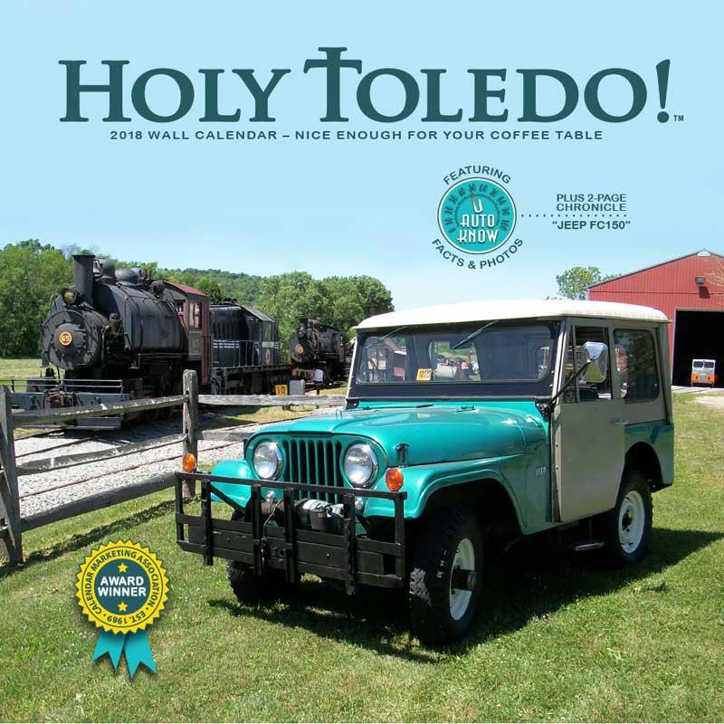2018 Holy Toledo! 2018 Jeep Calendar