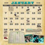 Holy Toledo! 2018 Jeep Calendar