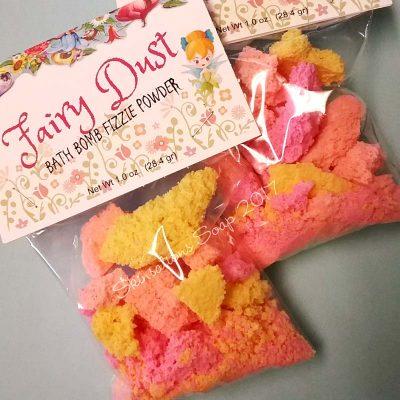 Fairy Dust Bath Bomb Fizzy Powder