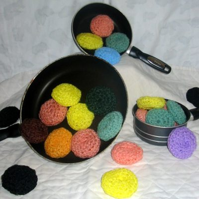 Nylon Scrubbies