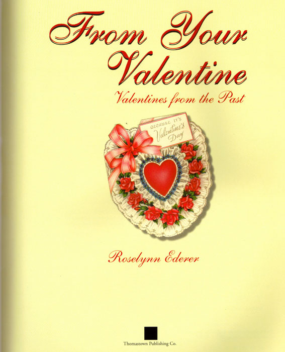 From Your Valentine Book Page 1