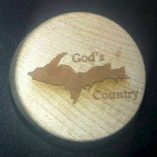UP God's Country WineO Wine Stoppers