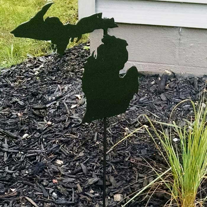 Michigan Garden Stake Made In Michigan
