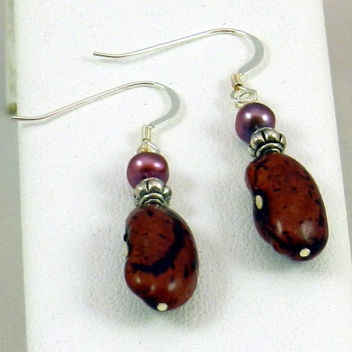 Candy Bean Earrings