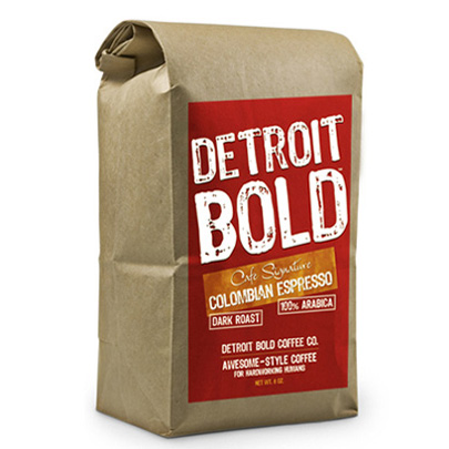 Cafe Signature Colombian Espresso Coffee By Detroit Bold