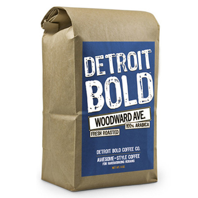 Woodward Avenue Coffee By Detroit Bold