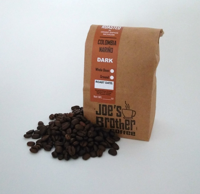 Colombia Nariño Supremo Coffee Dark Roast