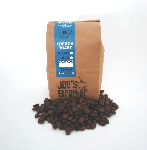 Colombia Nariño Supremo Coffee French Roast