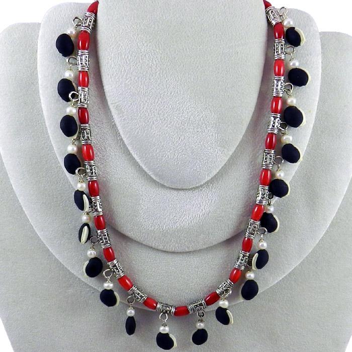 Hyacinth Bean Necklace