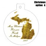 Option 4 Michigan Ornament