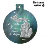 Option 6 Michigan Ornament