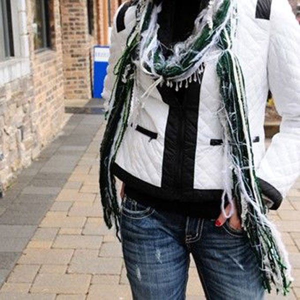 Michigan State Scarf Sports Team Scarves