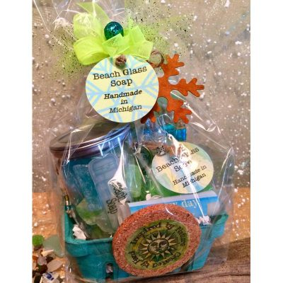 Day At The Beach Gift Basket