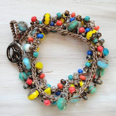 Fiesta Wrap Bracelet