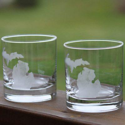 Michigan Rocks Glasses