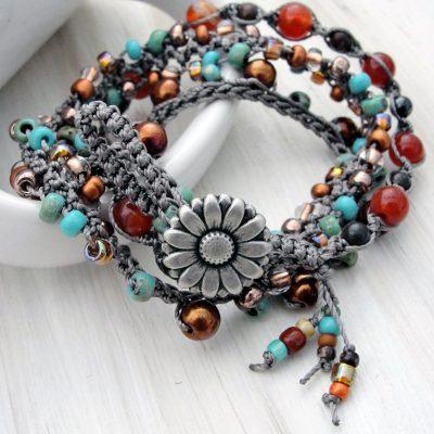 Sunset Wrap Bracelet
