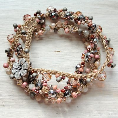 Romantic Tender Wrap Bracelet
