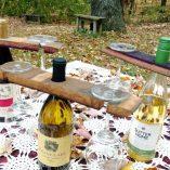 French Oak Wine Barrel Butler