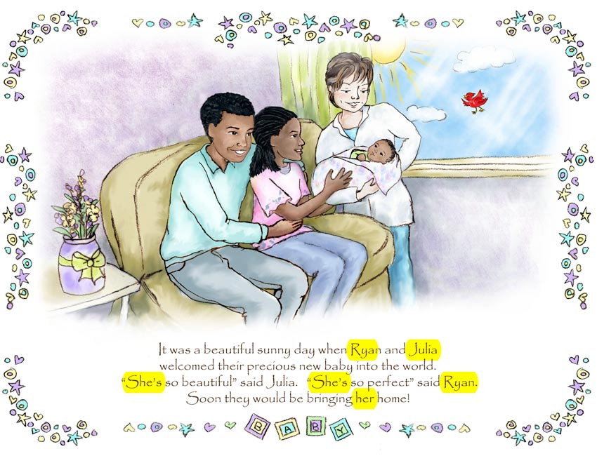 African American Adoption Family Book