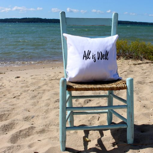 All Is Well Pillow