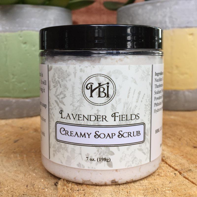 Lavender Fields Soap Scrub