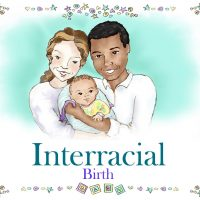 Personalized Interracial Family Book African American Dad Caucasian Mom