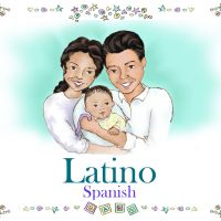Personalized Latino Family Book Spanish Version