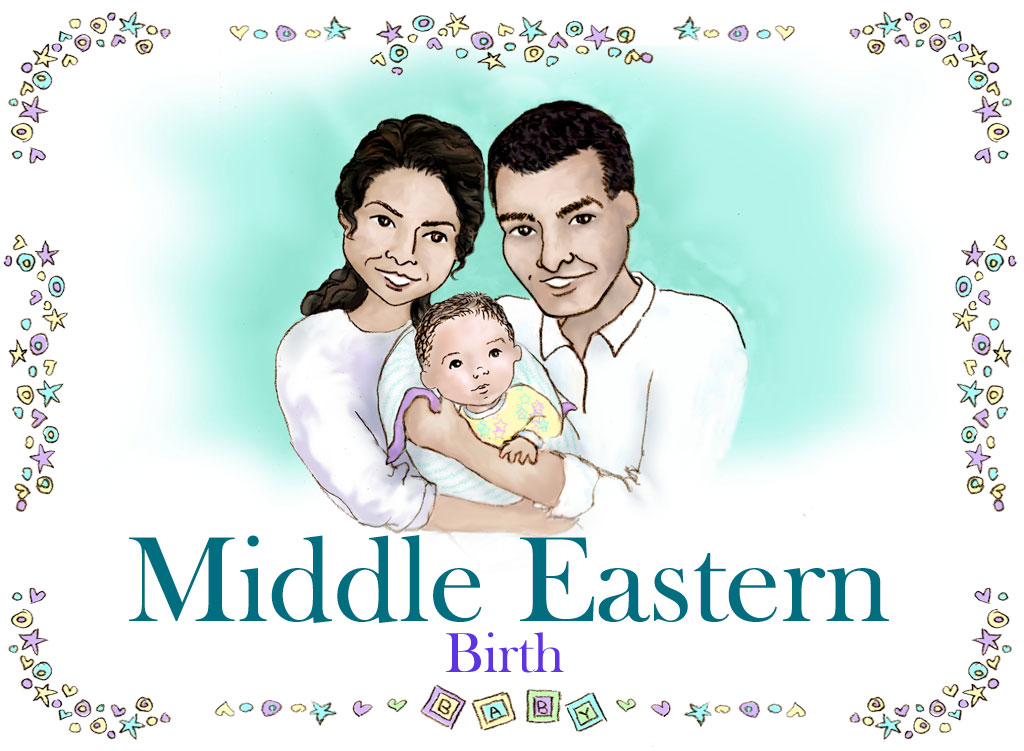 Personalized Middle Eastern Family Book