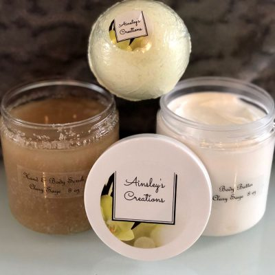 Natural Organic Bath and Body Gift Set