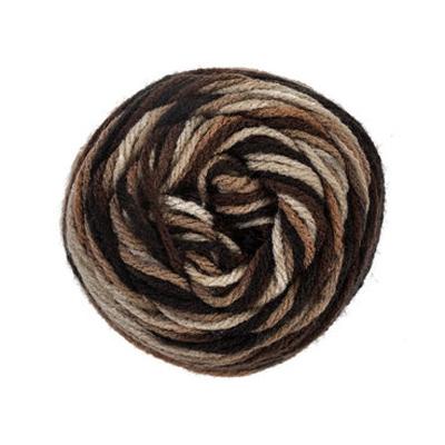 Brown Variegated Yarn