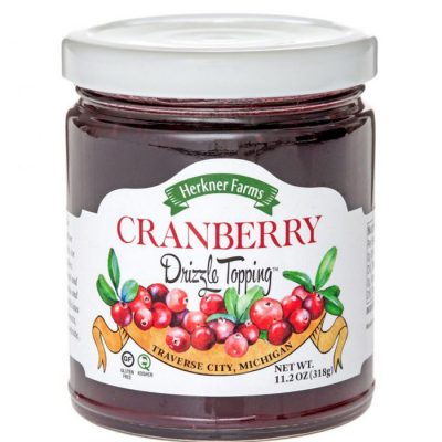 Cranberry Drizzle Topping