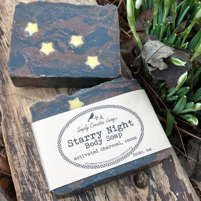 Starry Night Soap Bar